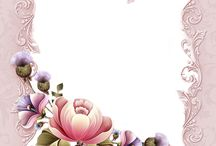 borda flor