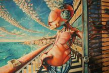 Paintings / Attila Berencsi's paintings contemporary painting,  Berencsi Attila kortárs festő festményei