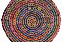Плетеный ковер