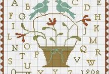 free primitive cross stitch