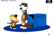Calvin And Hobbes / by Emily Kathleen