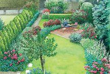 Reihenhaus Garten