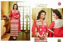 MF Divyanka / Superb Straight Cut Light Georgette Salwar Suit with heavy thread Embroidery work done all over. Comes along with Matching Santoon Bottom and Chiffon Duppatta.