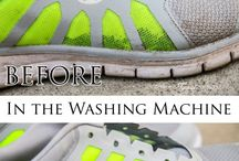Wash Tennis shoes