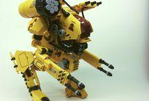 Heavy Mach and Gundams