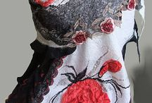 шали,палантины, шарфы