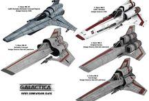 Sci-fi starships