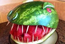 2012 Watermelon Carving Contest