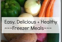 Freezer meals / by Kathy LaBouff