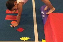Gymnastics drills