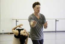 Hamlet in rehearsal / Photos by Bruce Zinger / by The National Ballet of Canada