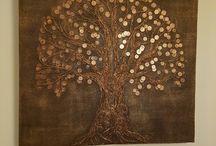 pengars träd