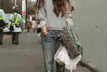 Cloth & hair style