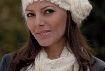 knitted hats and scarves / by Karen Schutz