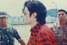 Michael Jackson short hair
