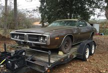 1973 Dodge Charger Restoration / This board is a photo journal as I restore a 1973 Dodge Charger.  / by Michael Miller