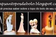 Topos de Bolo / Noivinhos topos de bolo. Dê um toque especial para seu bolo de casamento e surprienda seus convidados.