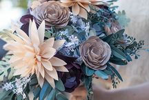 paper flowers bouquet