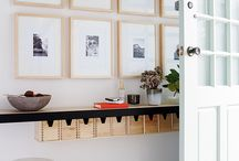Entryway / The entrance to your home is the first impression people will have of your house. First impressions count. It can be pretty easy to create a beautiful entryway. Get inspired here