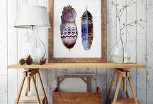 Rolled canvas art prints by ZuskaArt