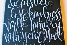 calligraphy / by Kat Skye