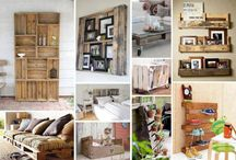 Pallet ideas / The things you can do with pallets are amazing. so easy, reasonably cheap and very effective.