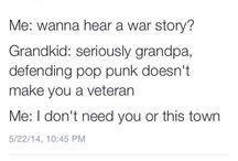 Pop Punk Not Pills.