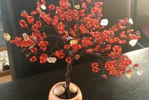 Handmade by me / Wire and beads Bonsai tree