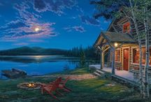 Cabin/Cottage / by Mary Coughlan