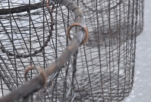 Baskets, Crates, wire baskets and like