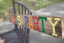 Noah's 1yr Birthday Party / by Cat Bacelieri