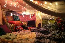 My bedroom fort
