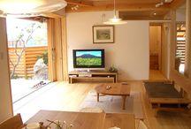 日本  Wooden Interiors