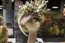 chapeau floral