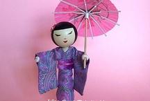 Clothespin dolls / by Fabi Sehnem