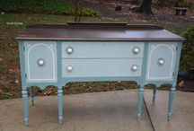 PROJECTS: Furniture Refinishing / furniture refinishing and painting