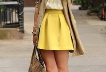 yellow outfit