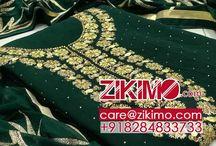 Top jorjt material neck work with inner senton sillk Bottom senton Duptta shiffon   Karachi Dupatta work