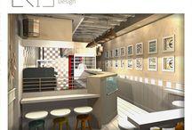 Διακόσμηση by Eirini Kelidou Interior Designer / Έργα μου σε Ελλάδα και εξωτερικό - διακόσμηση, Interior Design, φωτορεαλιστικά 3d σχέδια. Διακόσμηση - σπίτια, επαγγελματικοί χώροι, σχεδιασμός περιπτέρων