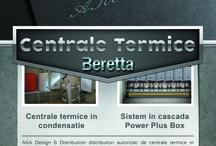 Centrale termice / Soluții de încălzire de uz comercial şi rezidenţial. Aplicații individuale, în cascadă și în cutii preansamblate.
