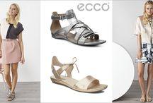 Sandalele ECCO în nuanţe metalice   l