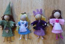 fairies, elves, gnomes...magical
