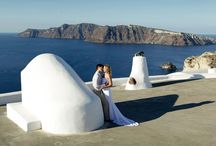 Santorini Dream Weddings / Lilian's and Andy's dream wedding in Santorini