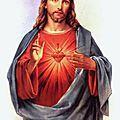 prière au sacré coeur