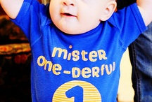 When our boy turns one! / by Danielle Sutton