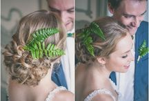 Wedding hairdo, pictures by me