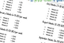 Home budget / Daily planner and ideas about home budget
