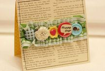 Paper Crafts - Scrapbooking, Cards etc. / by Toy F.
