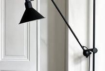 Vegg lampe til stue og soverom