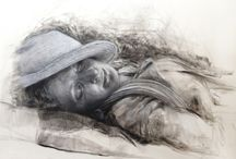 Kathrin Hufen / Portrait Paintings and Drawings